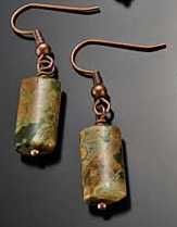 Image for Rhyolite Rainforest Earrings