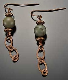 Image for Simply Sophisticated Creek Jasper Earrings