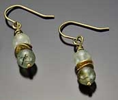 Image for Prenite & Brass Earrings